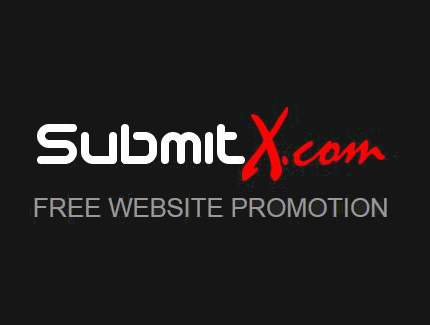 SubmitX.com Free Website Promotion